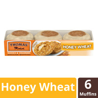 Thomas' Honey Wheat English Muffin