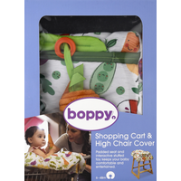 Boppy Shopping Cart & High Chair Cover, Multicolor Farmers Market, 6-48 Months