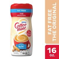 Coffee mate Original Fat Free Powdered Coffee Creamer