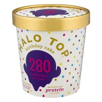 Halo Top Creamery Birthday Cake