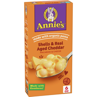 Annie's Shells & Aged Cheddar Macaroni and Cheese