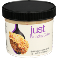 Just Birthday Cake Eat It Raw Cookie Dough