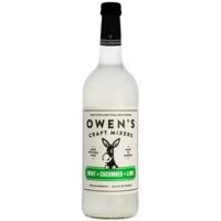 Owen's Craft Mixers Mint + Cucumber + Lime Mix