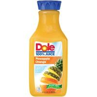 Dole 100% Juice Pineapple Orange Juice
