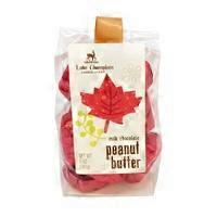 Lake Champlain Chocolates Peanut Butter Milk Chocolate Fall Leaves Bag