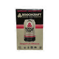 Booch Craft Grapefruit Hibiscus Heather Hard Kombucha