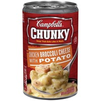 Campbell's Chicken Broccoli Cheese with Potato Soup