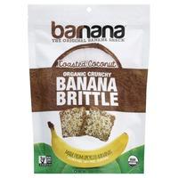 Barnana Banana Brittle, Organic, Crunchy, Toasted Coconut