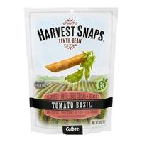 Harvest Snaps Tomato Basil Lentil Bean Crisps