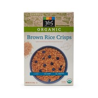 365 Organic Brown Rice Crisps Cereal