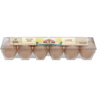 Land O Lakes Eggs, Brown, Cage Free, Large