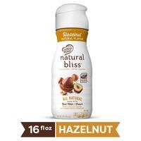 Natural Bliss Coffee Mate  Hazelnut All Natural Liquid Coffee Creamer