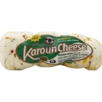 Karoun String Cheese, Braided, with Olive Oil, Garlic & Herbs, Part Skim Milk
