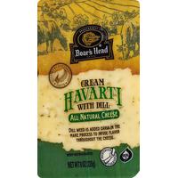 Boar's Head Cheese, Havarti, Cream, with Dill