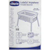 Chicco Bassinet, Portable, Sandstone