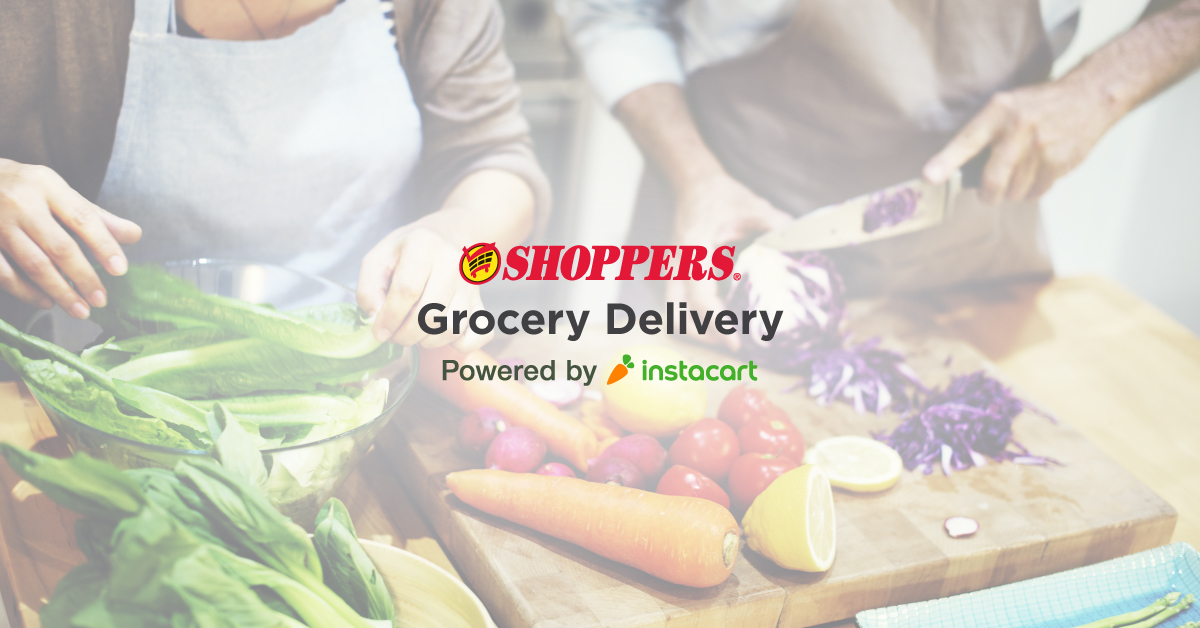 Shoppers Powered By Instacart