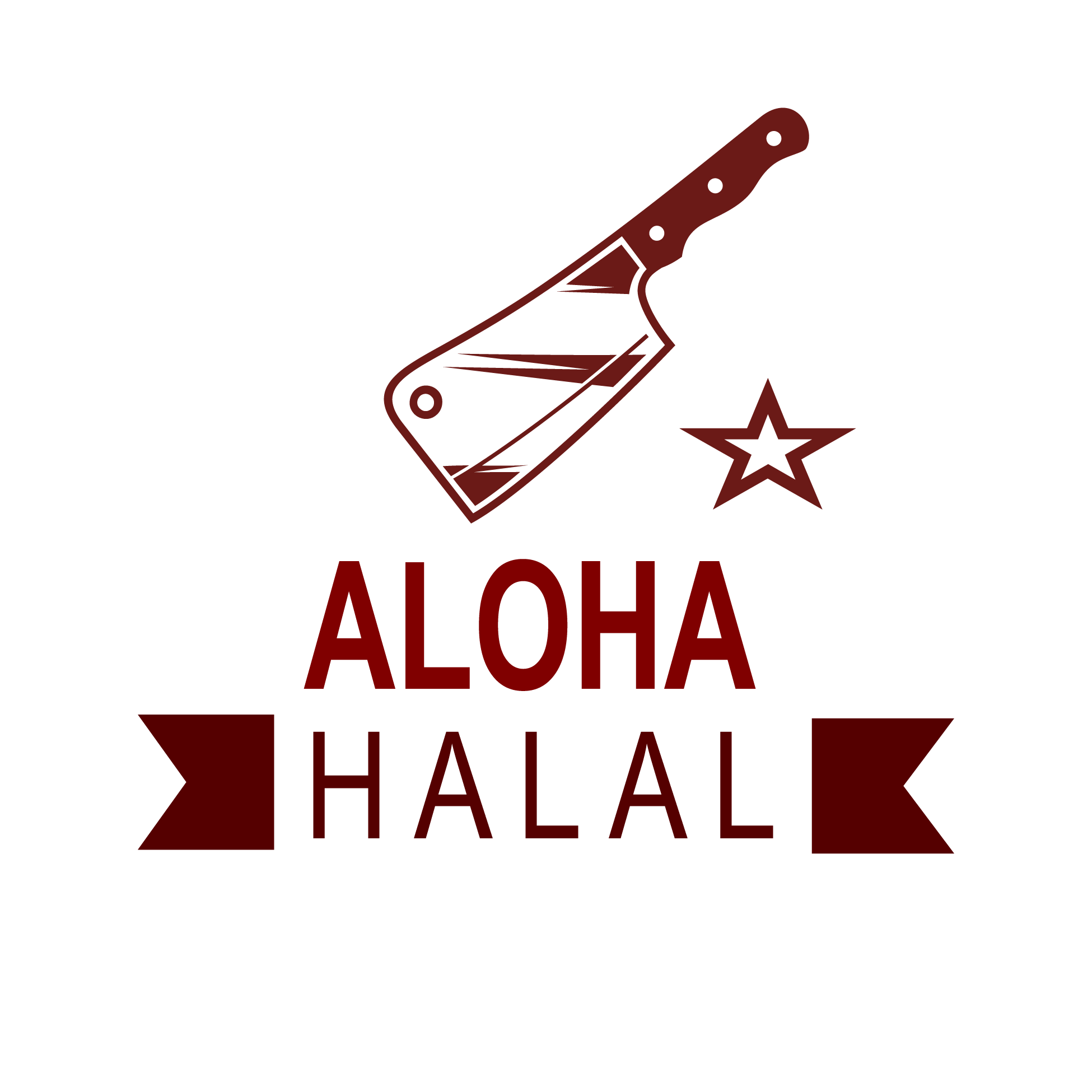Aloha Halal logo