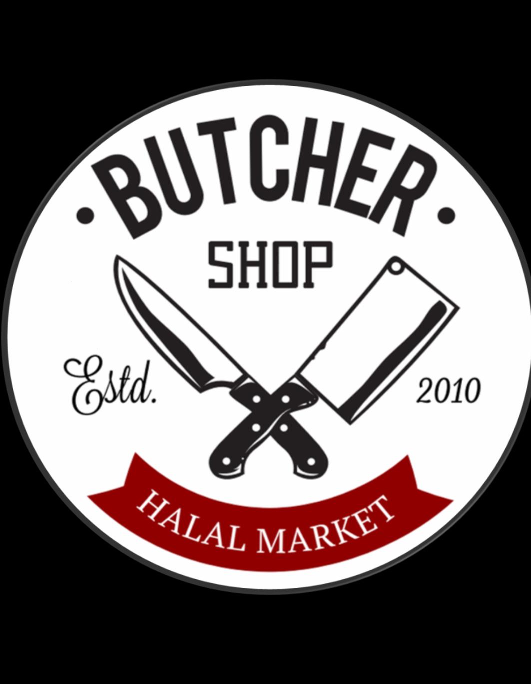 The Butcher Shop Halal Market logo