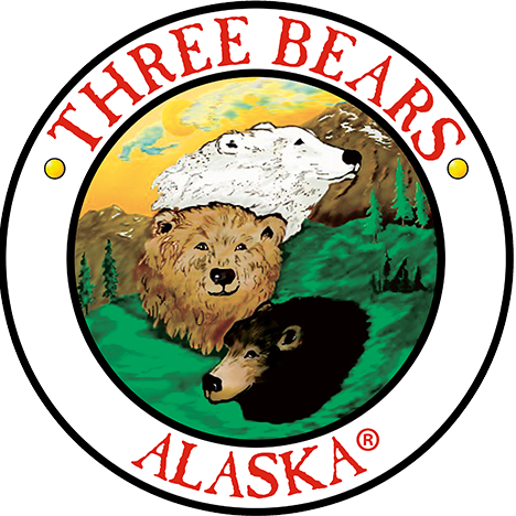 Three Bears Alaska logo
