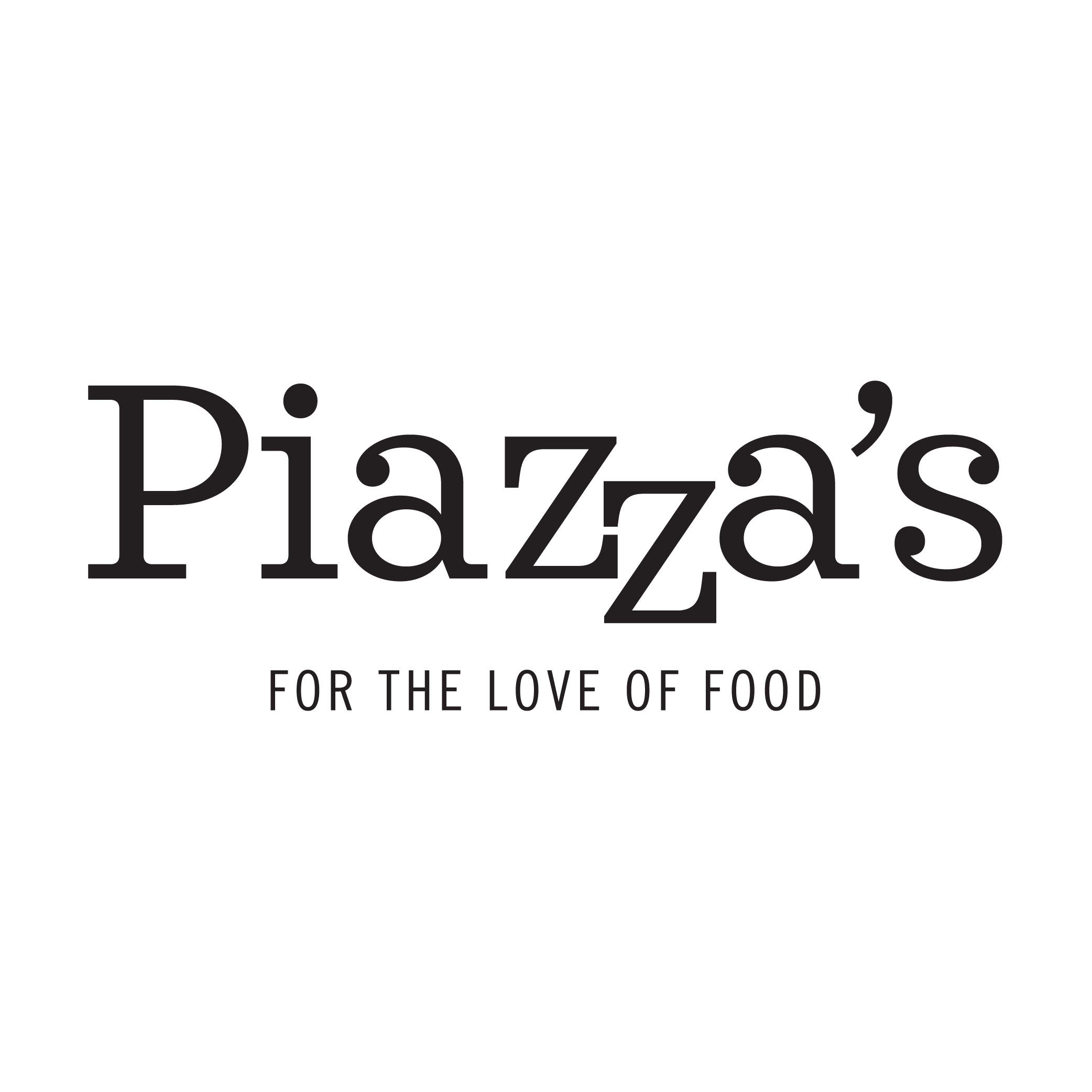 Piazza's Fine Foods logo